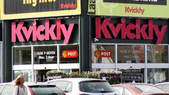 Kvinden arbejdede som butiksdetektiv i forskellige Kvickly-forretninger på Sjælland.