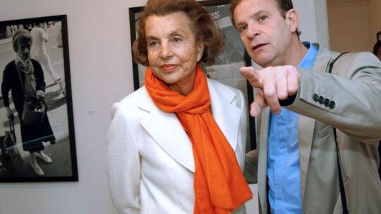 Francois-Marie Banierog Liliane Bettencourt i 2004