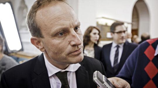 Martin Lidegaard. Til BT