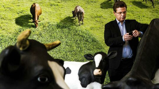 Arlas administerende direktør, Peder Tuborgh, vil øge mejerigigantens omsætning med 10 milliarder kroner i 2013.