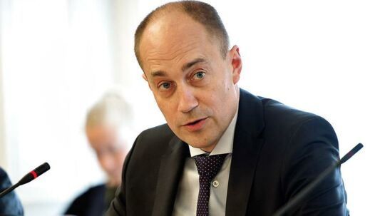 Transportminister Magnus Heunicke