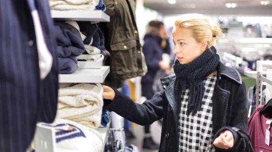 Hver fjerde danske modebutik har kørt med underskud de seneste tre år. Arkivfoto