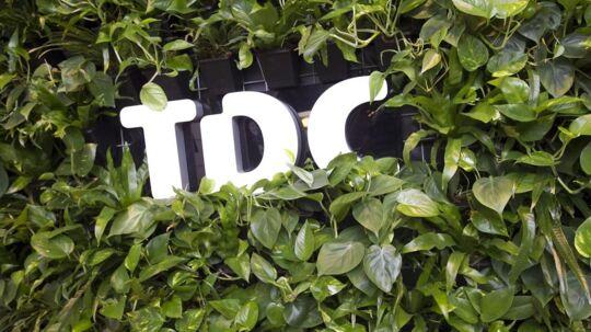 TDC er ved at gro til i problemer men formår alligevel at holde snuden i vandskorpen. Udsigterne for 2015 er dog ikke for lyse. Foto: Kim Haugaard, Scanpix
