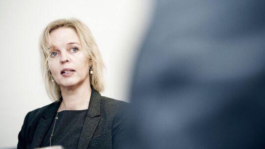 TDCs nye topchef, Pernille Erenbjerg, varsler nye prisstigninger. Foto: Erik Refner