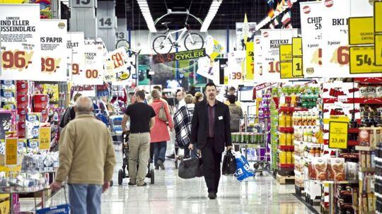 Bilka er en af de butikker, der skal betale en bøde for vildledende markedsføring.