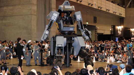 En gruppe robot fans der kalder sig Suidobashi Heavy Industry har skabt en robot, som i weekenden blev præsenteret ved en konference i Tokyo.