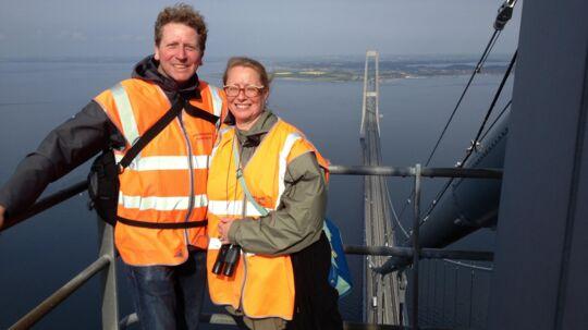 Udsigten fra toppen af Storebæltsbroen er forrygende - og et blik oppefra på danskernes formue tegner et noget lysere billede, end det har været fremme den seneste tid, konkluderer Nykredit.