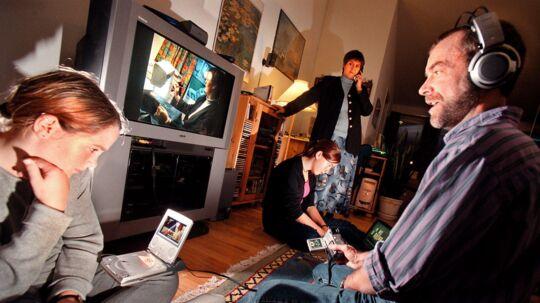 Flere og flere vælger de store TV-kanalpakker fra og abonnerer på andre film- og TV-tjenester. Arkivfoto: Søren Bidstrup