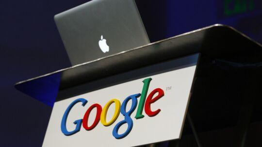 Apple vs. Google - I år har Apple slået Google af pinden som det mest værdifulde brand i verden.