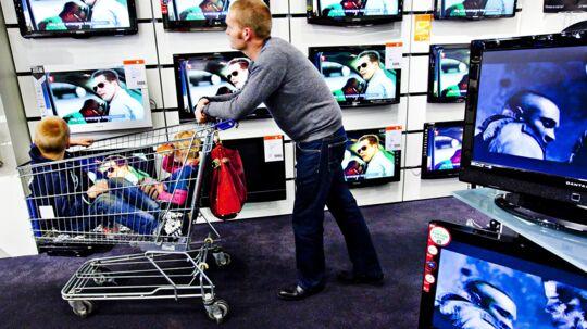 Forbrugerorganisationen Tænk er glad for, at der bliver større valgfrihed på TV-fronten. Arkivfoto: Scanpix