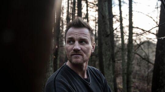 Lars Møller, veteran fra Afghanistan og Irak, finder ro i den nordjyske natur. Foto: Tine Sletting Jakobsen