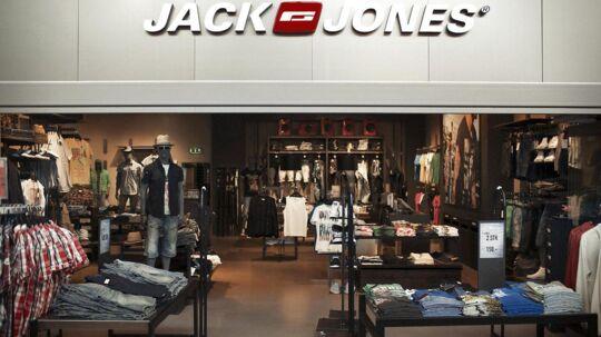 ARKIVFOTO. Det var blandt andet tøj fra mærket Jack & Jones, der viste spor af stoffet NPE.