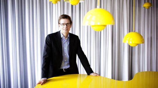 Digitaliseringsstyrelsens direktør, Lars Frelle-Petersen, vil nu stramme op på kravene til statens IT-leverandører. Der vil blandt andet komme mere tilsyn. Arkivfoto: Erik Refner, Scanpix