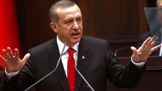 - Vi kunne aldrig være interesserede i at starte en krig, udtaler Erdogan iføle Reuters.