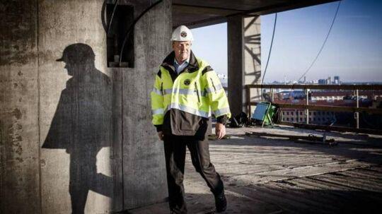 Nyhus tiltrådte 1. november 2013 som topchef for bryggeribydelen, der ligger, hvor Vesterbro møder Valby og Frederiksberg. Efter tre måneder justerede han tidsplanen ud fra, at samfundsøkonomien en stund endnu kører i slæbegear, men at der ikke kommer direkte tilbagegang som i 2008-09.