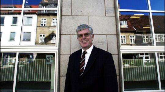 Niels Valentin Hansen, tidligere direktør i Roskilde Bank, ønsker ikke at forholde sig til dagens forlig for tidligere Roskilde Bank-aktionærer.