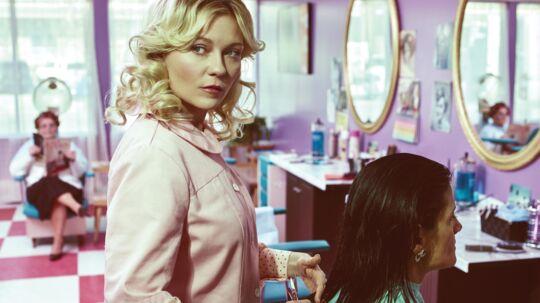 TV-serien Fargo, hvor Kirsten Dunst har en af hovedrollerne i anden sæson, vises på HBO og er et af eksemplerne på, hvordan udbuddet på streaming-tjenesterne har højnet serie-niveauet. Fargo er netop blevet nomineret til tre Golden Globe-priser. Foto: Scanpix
