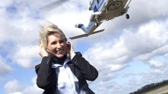 Selfmade: Susanne Hessellund, ejer og grundlægger af Belair Aviation. Foto: Nils Rosenvold