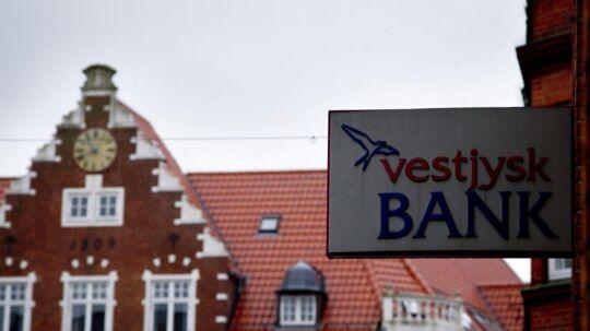 Vestjysk Bank er kommet i negativt søgelys i dag.