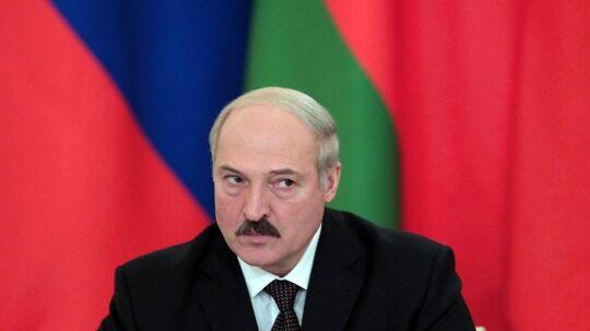Svensk TV afslørede i april, hvordan Telia havde samarbejdet med efterretningstjenesten under Aleksandr Lukasjenko, Hvideruslands præsident, der er blevet kaldt Europas sidste diktator. Foto: Sergei Ilnitsky, EPA/Scanpix