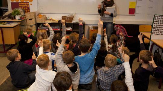 På hver anden skole observerer skoleledelsen systematisk lærernes undervisning - og lærerne er glade for at få besøg.