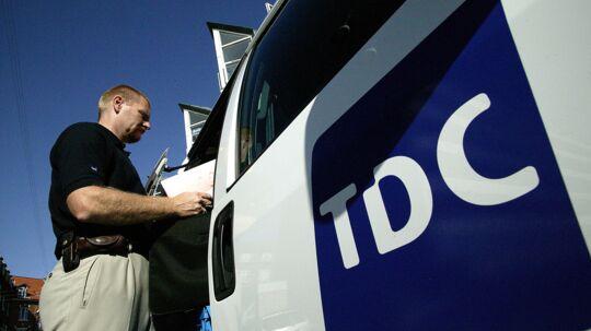 Som det sidste af de tre store fremlagde TDC onsdag morgen sine resultater for årets første tre måneder. Foto: Ole Hartmann Schmidt, TDC