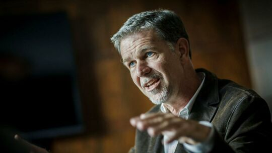 Reed Hastings' mål for Netflix er, at hver tredje husstand skal abonnere på streamingtjenesten.