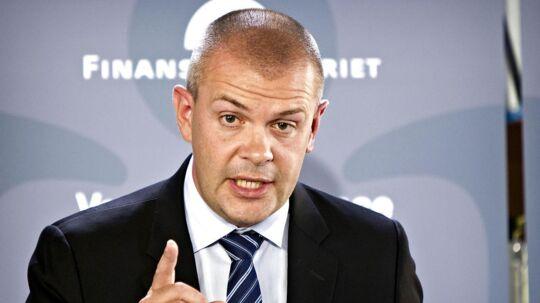 Arkivfoto. Finansminister Bjarne Corydon (S).