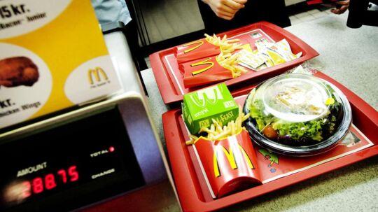 McDonald's og andre store virksomheder skal fremover afsløre, hvor mange penge de lægger i den danske statskasse i skatter, viser et notat fra Skatteministeriet.