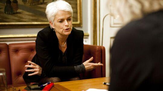 Annette Vilhelmsen, erhvervs- og vækstminister, vil klæde revisorer bedre på til at gennemskue tallene i finansielle virksomheder.