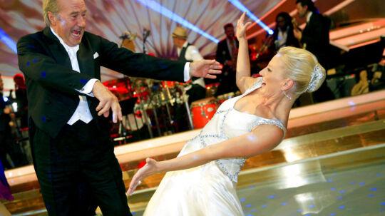 Vild med dans - Erik Brandt og Vivi Siggaard. (Foto: Thomas Lekfeldt/Scanpix 2014)
