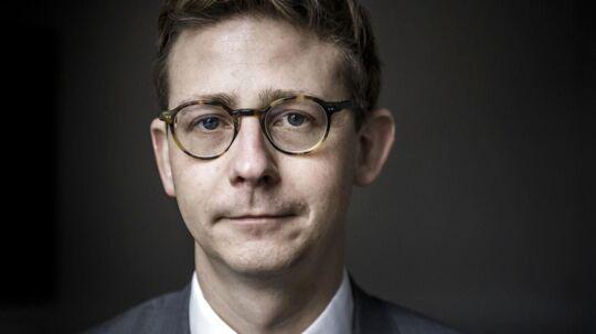 Karsten Lauritzen (V), skatteminister, befinder sig på denne uges liste over op- og nedture i dansk erhvervsliv. Se hvor nedenfor.