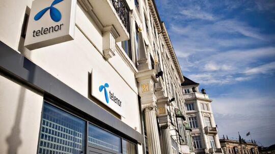 Det har været dyrt for den norske telegigant Telenor at være i Danmark de seneste 15 år. Arkivfoto: Telenor