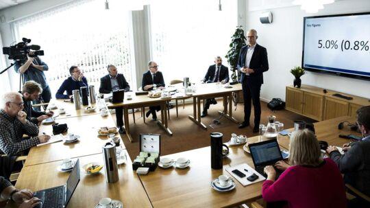 Grundfos fremlægger årsregnskab for 2015. Er det lykkedes topchef Mads Nipper at vende skuden og få styr på indtjeningen i pumpevirksomheden i Bjerringbro?
