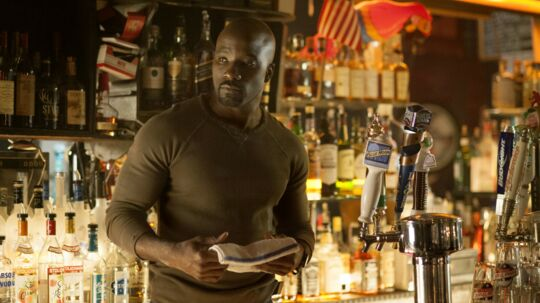Luke Cage, aka. Mike Colter