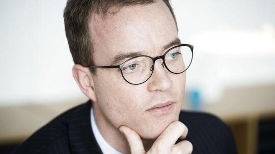 Miljøminister og minister for landbrug og fødevarer, Esben Lunde Larsen.