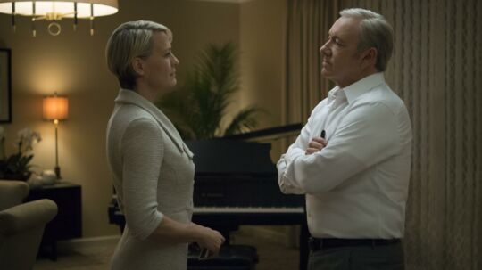 Frank og Claire Underwood i House of Cards.