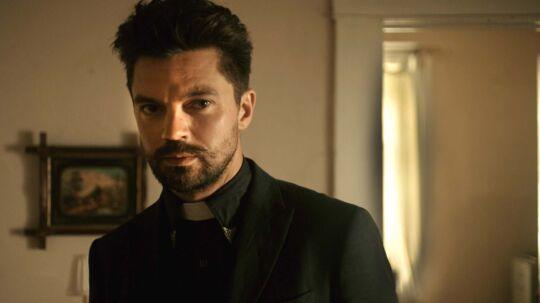 Dominic Cooper spiller præsten Jesse Custer i »Peacher«.
