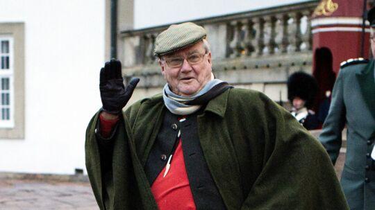 Prins Henrik, dengang han stadig var prinsgemal, ved den traditionsrige Kongejagt i Grib Skov. Fredensborg Slot den 27. november 2014. Men nu er det slut med dén titel. Foto: Nils Meilvang
