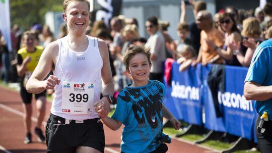 BT Halvmarathon fra Kongens Lyngby til Rundforbi Stadion i Nærum løbes på søndag for 37. gang. Foto: Scanpix