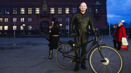 København er førende i brugen af intelligente trafikstyringssystemer, fortæller teknik- og miljøborgmester, Morten Kabell (EL).
