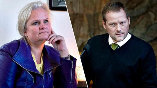 Liselott Blixt og Rene Christensen tjener godt på at bijobbe ved siden af arbejdet for Dansk Folkeparti