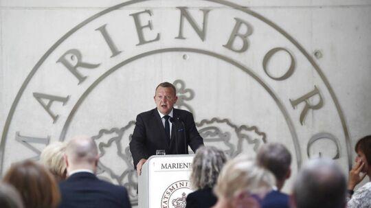 DF, LA og Ks mærkesager er »nemme løsninger« siger Lars Løkke Rasmussen.
