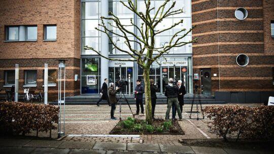 Retssag mod Amagerbanken startede onsdag den 5. april 2016 i Retten i Lyngby. (Foto: Mathias Løvgreen Bojesen/Scanpix 2016)