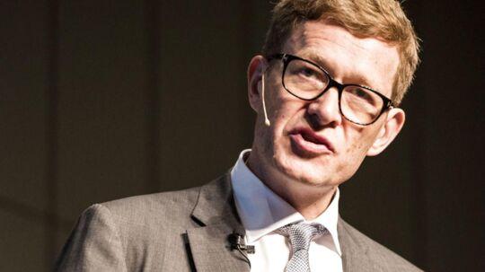 Produktionspanel. Regeringen med erhvervs- og vækstministeren i spidsen vil sikre, at danske virksomheder kommer med på den digitaliseringsbølge, som rammer verden i øjeblikket. Danfoss' topchef Niels B. Christiansen (på billedet) bliver formand for en tænketank, som skal komme med forslag til at få det til at ske.
