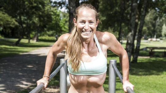 BT PLUS' træner Tanja Hultengren er på alle måder sommerklar.