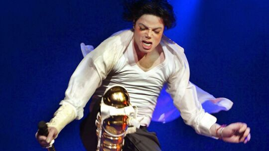 Michael Jackson i sit element – på scenen. Foto: AFP