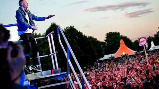 Roskilde Festival 2016 MACKLEMORE & RYAN LEWIS på Orange torsdag aften