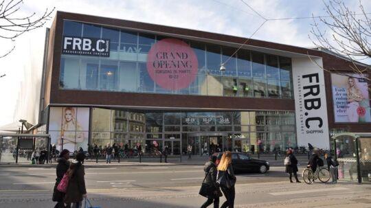Frederiksberg Centret set fra Falkoner Allé - torsdag er der åbningsfest eller »Grand Opening« for den nye etage med 25 butikker.