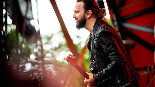 Roskilde Festival 2016 Dizzy Mizz Lizzy med Tim Christensen i front på Orange Scene Lørdag eftermiddag. (Foto: Nils Meilvang/Scanpix 2016)